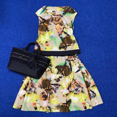 【オーダーメイド普段着】美女服 サイドフレアスカート セットアップ