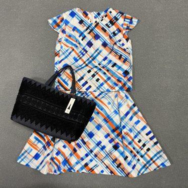 長年苦手だったスカートが、花明ブランドで好きになりました!